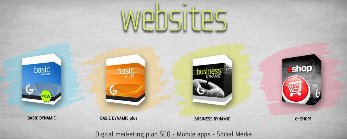 κατασκευή ιστοσελίδων από απλή παρουσίαση ιστοσελίδας εως και eshop από τη graphicnet στην Αθήνα